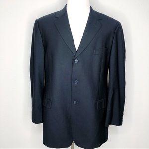 Brooks Brothers Navy Blue Blazer Sport coat 45R